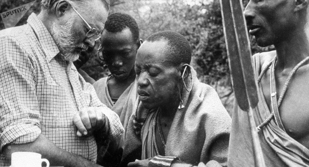 非洲乡下的巫医