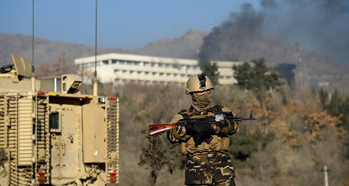媒体:阿富汗当局表示已击败对喀布尔酒店的袭击