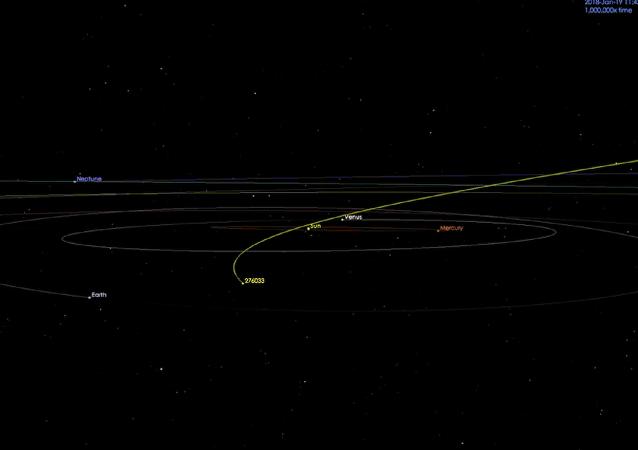 美國航空航天局:一顆和摩天大樓尺寸相近的小行星逼近地球