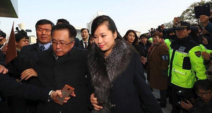 朝鲜艺术团先遣队今赴首尔考察