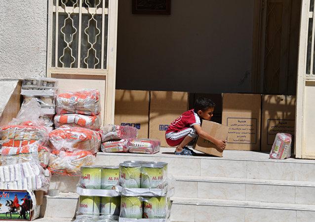 人道援助物資