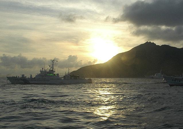 媒體:日本將在中日爭議島嶼地區部署一艘搭載直升機的巡邏艦