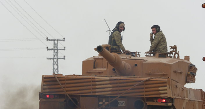 土耳其軍隊在阿夫林