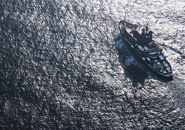 一艘于日本海失踪的俄船只曾维修后从韩国返航