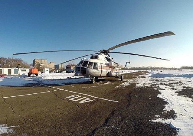 紧急情况部直升机因暴风雪无法飞往哈巴罗夫斯克边疆区雪崩地