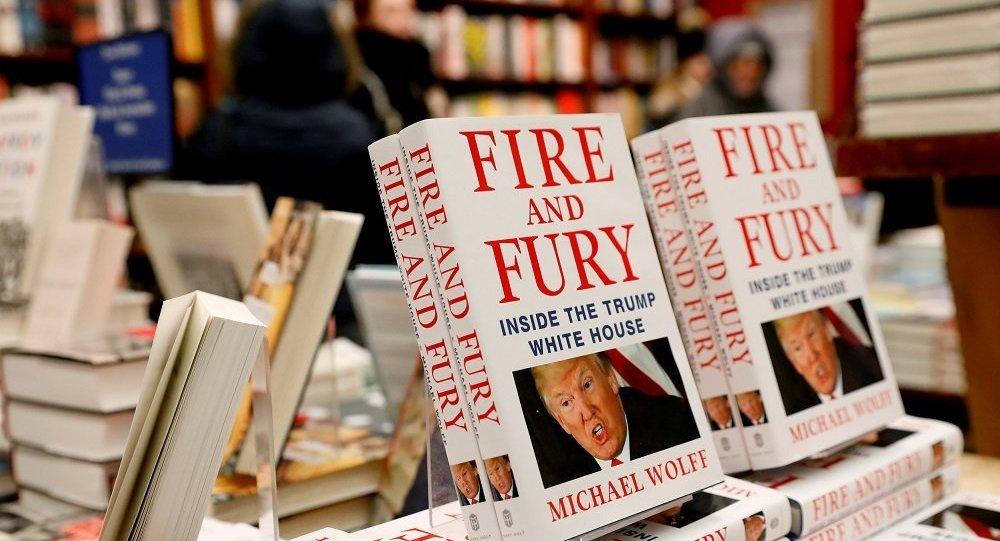 《火与怒: 特朗普白宫内幕》一书俄文版4月份将在俄出版