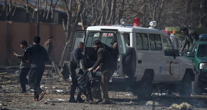 阿富汗救護車