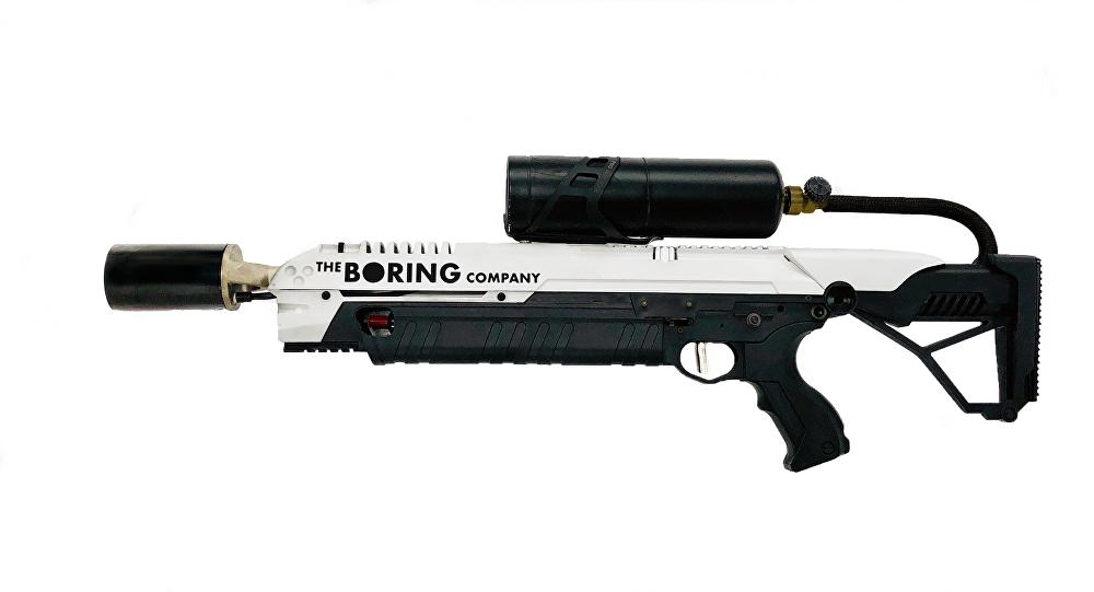 """""""无聊公司""""(Boring)的火焰喷射器"""