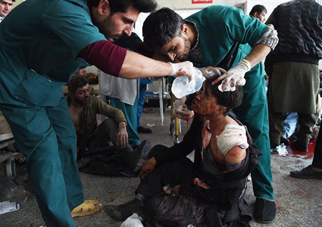 阿富汗議會選舉期間發生爆炸 致至少15死110多人傷