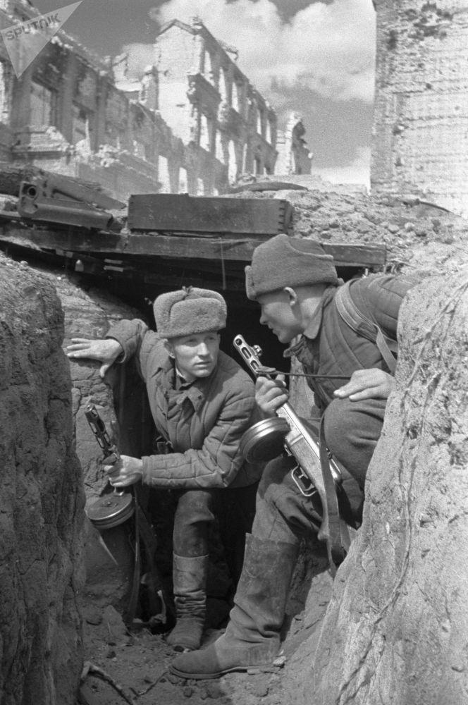 斯大林格勒巷战