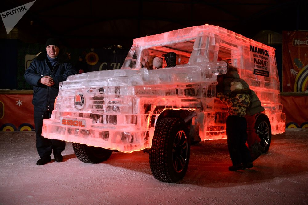 酷炫冰造汽车