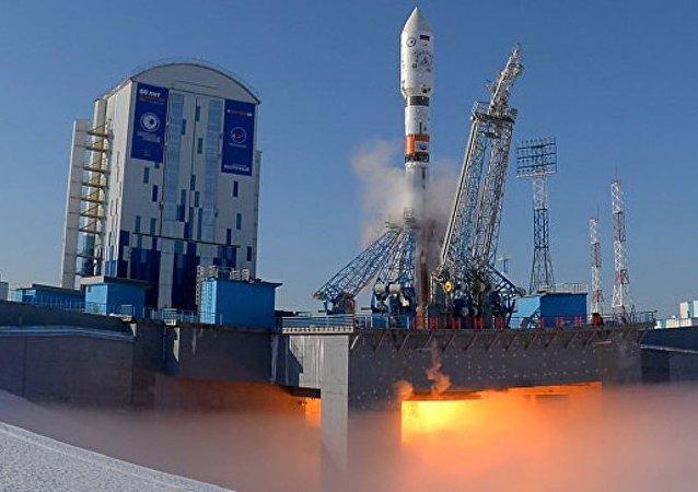 落入俄濱海邊疆區的「聯盟2.1a」火箭一級的所有4個脫落部分已找到