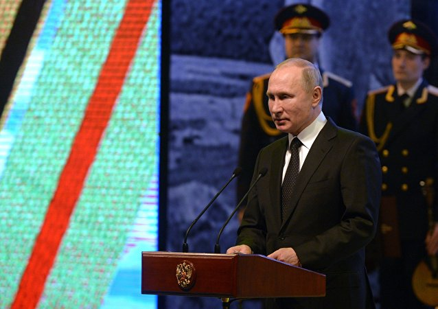 普京褒奖俄罗斯人民在斯大林格勒保卫战中不屈不挠的精神力量