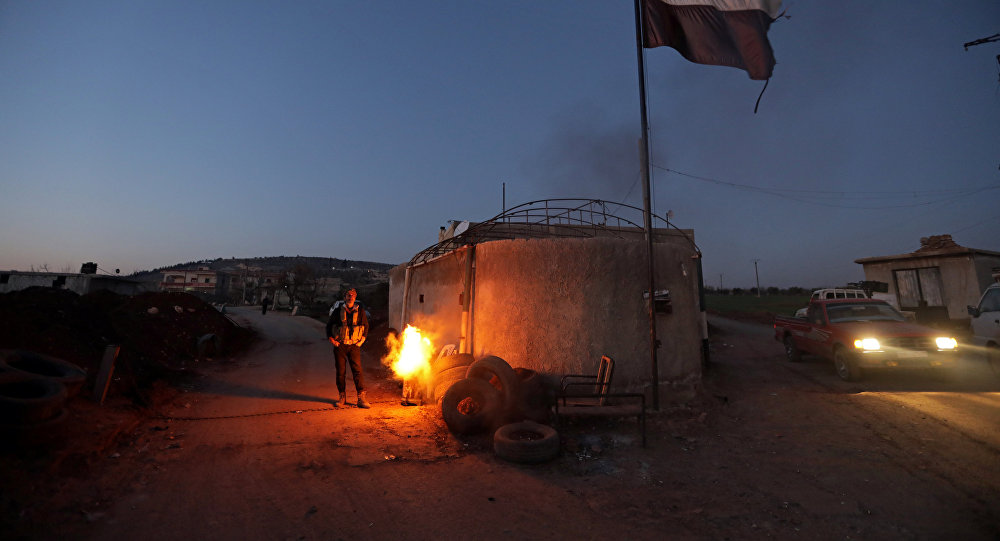 叙库尔德武装在阿夫林击落土无人机