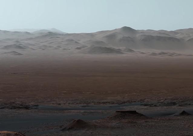 NASA發佈了火星全景視頻