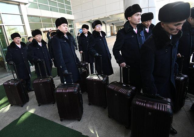 朝鲜冬奥音乐会筹备小组抵韩