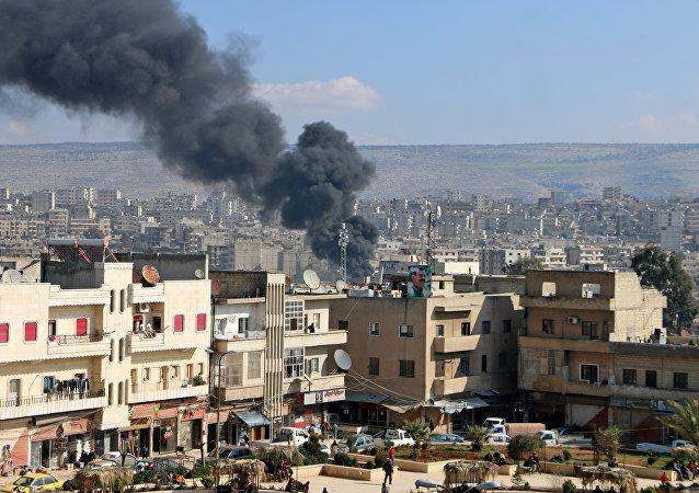敘利亞阿夫林地區的行動