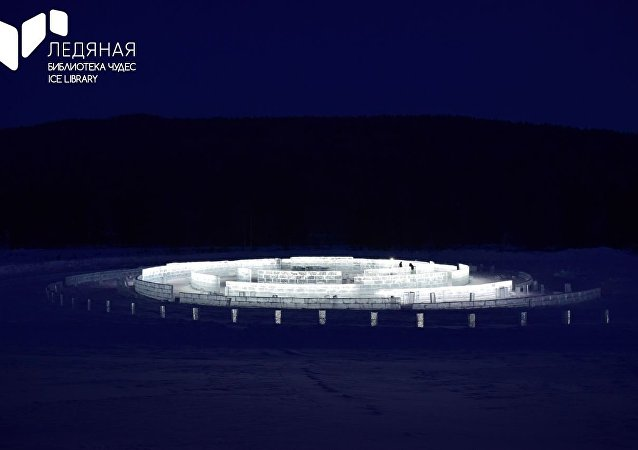 中国民众积极参与贝加尔湖冰雪图书馆心愿墙制作