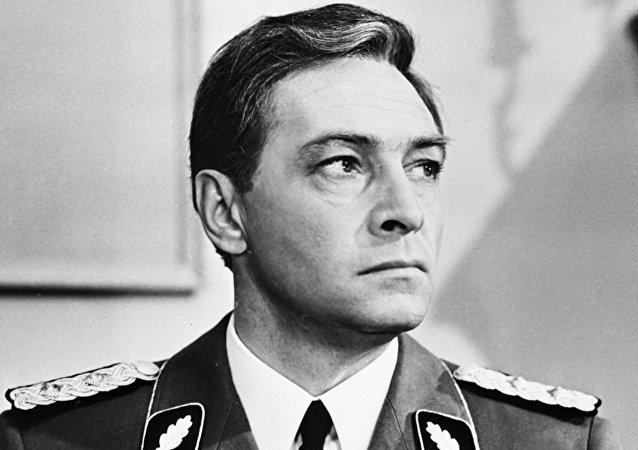 俄罗斯著名演员维亚切斯拉夫·吉洪诺夫