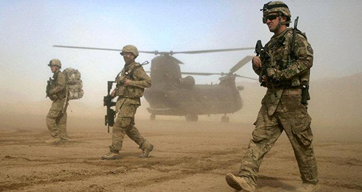 美國軍人在阿富汗