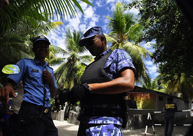 馬爾代夫總統:警方正在調查針對合法政府的陰謀