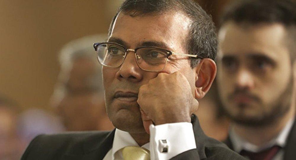 馬爾代夫前總統呼籲印度介入該國局勢以解決危