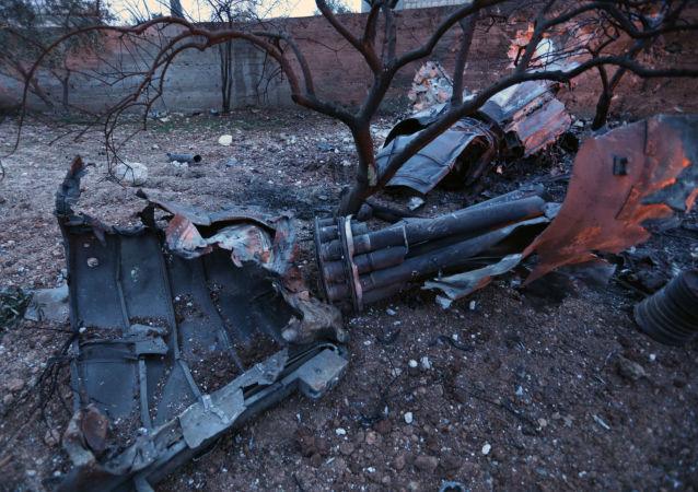 俄國防部請求土耳其協助收回2月3日在敘被擊落的蘇-25殘骸