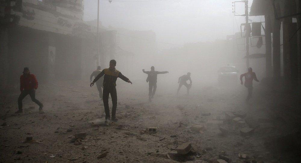 俄軍總參謀部表示,在化武挑釁後,美國作為「報復」計劃對大馬士革政府區進行導彈打擊