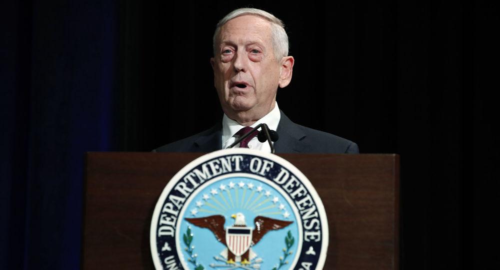 美國國防部長馬蒂斯