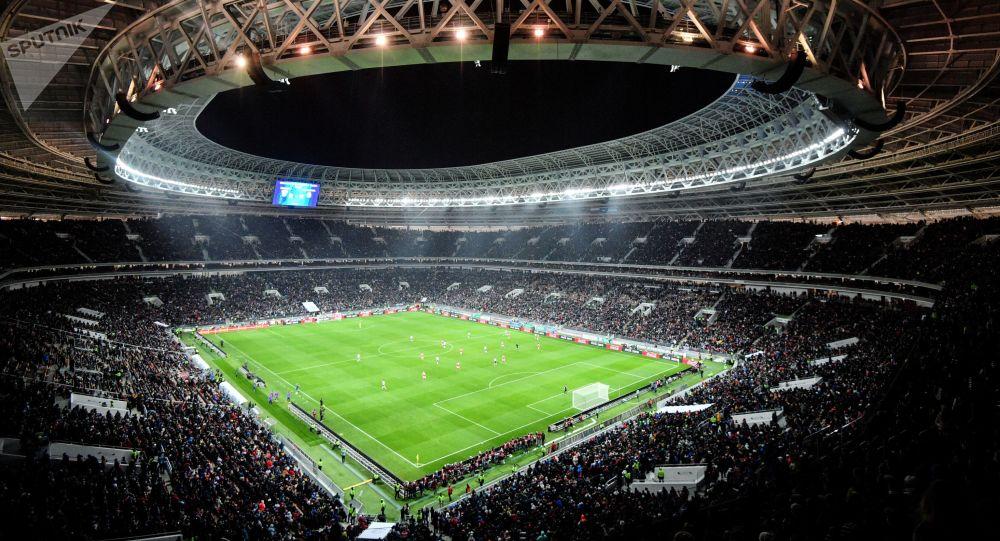 卢日尼基体育场, 莫斯科