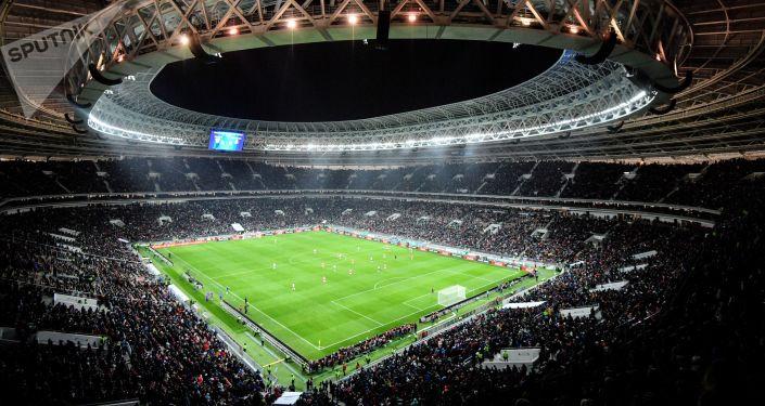 盧日尼基體育場, 莫斯科