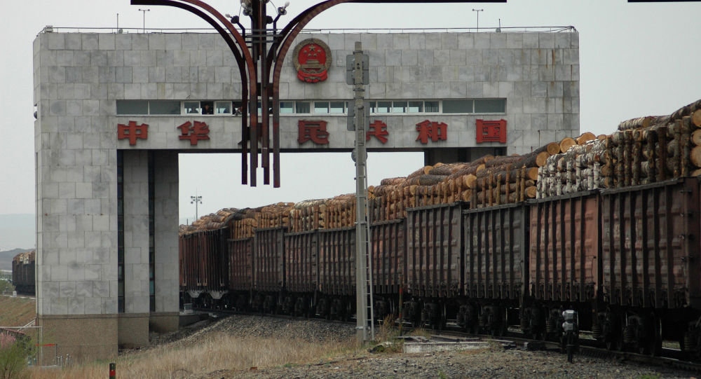 中林集團國林木業城已成為中俄林木合作標誌性項目