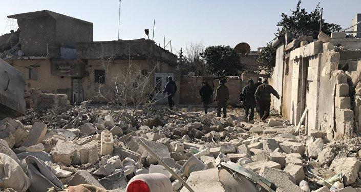 土方認為有關敘政府軍將進入阿夫林的消息是假新聞