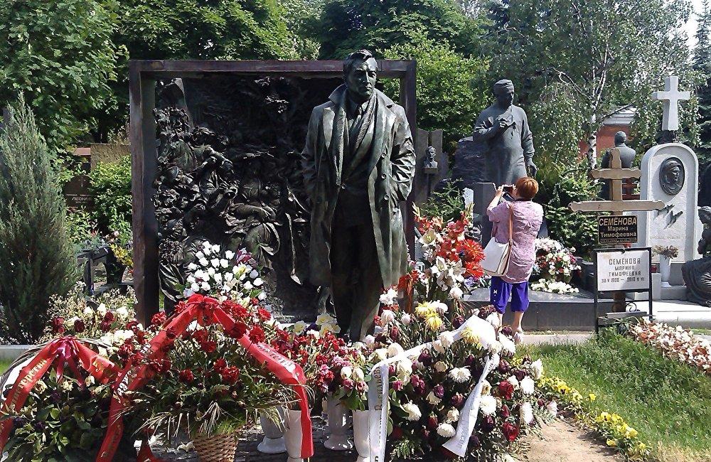 维亚切斯拉夫·吉洪诺夫 的墓地
