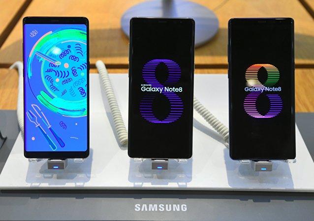 三星Galaxy Note 8手機