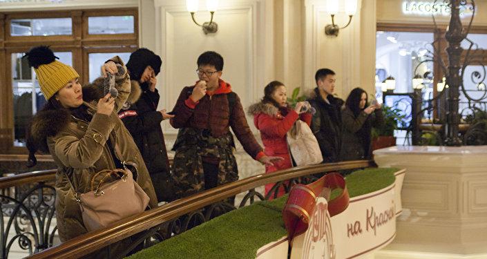 今年第一季度莫斯科和圣彼得堡接待中国团体游客量同比增长近20%