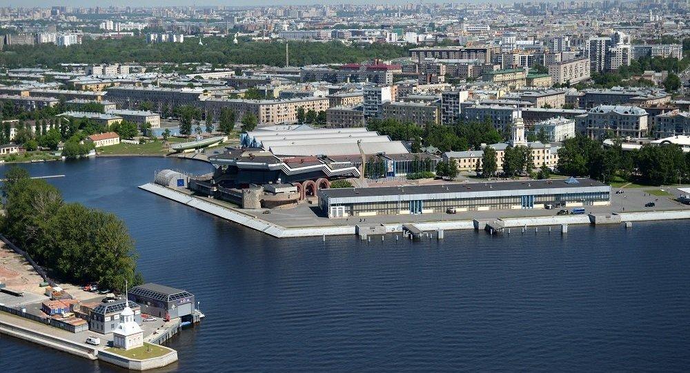 展示俄中当代关系的博物馆在圣彼得堡俄中商务园开馆