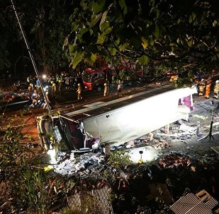 香港重大交通事故遇难人数增至19人