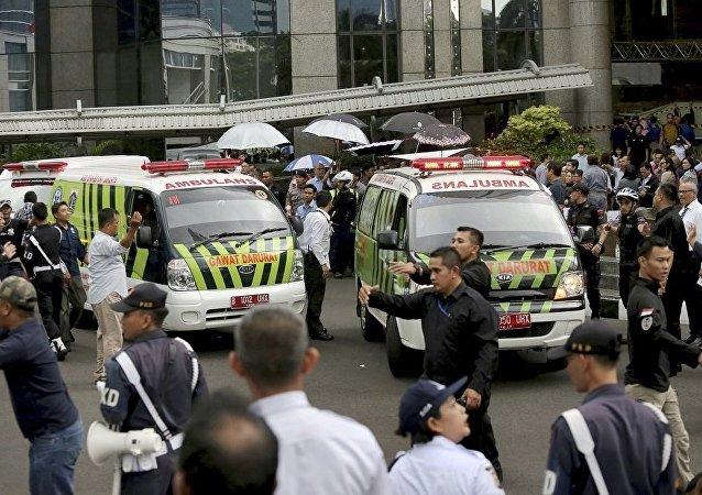 印尼急救車(資料圖片)