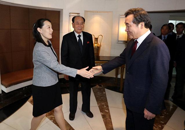 韩总理将在午休时间会晤朝代表团