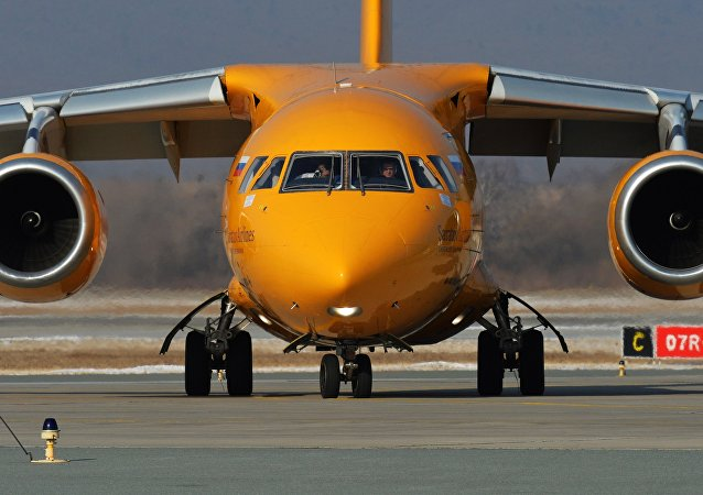 An-148飞机