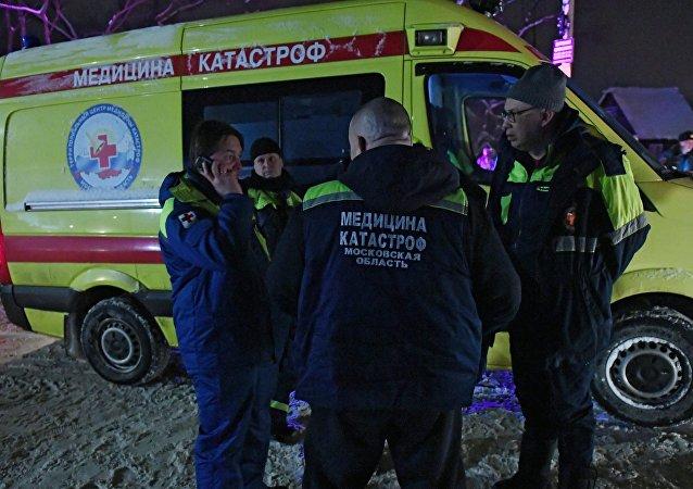 俄紧急情况部:莫斯科地区安-148坠机现场的搜救行动已结束