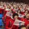 朝鲜拉拉队吸引冬奥观众眼球(视频)