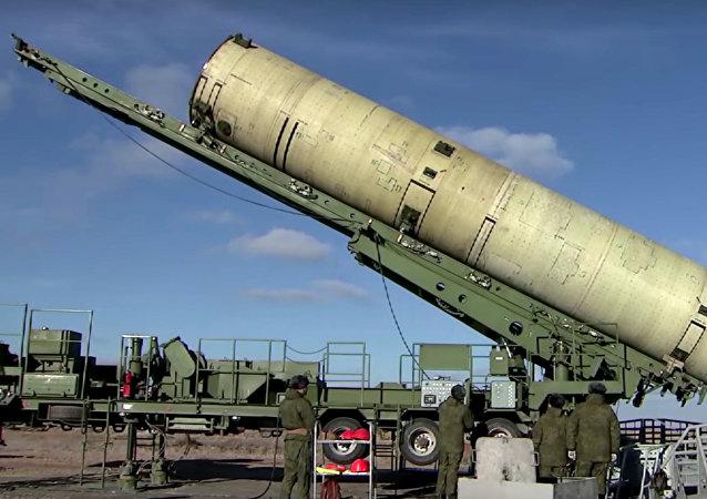 空天部隊在哈薩克斯坦薩雷沙甘靶場進行了俄羅斯升級版反導系統的試射