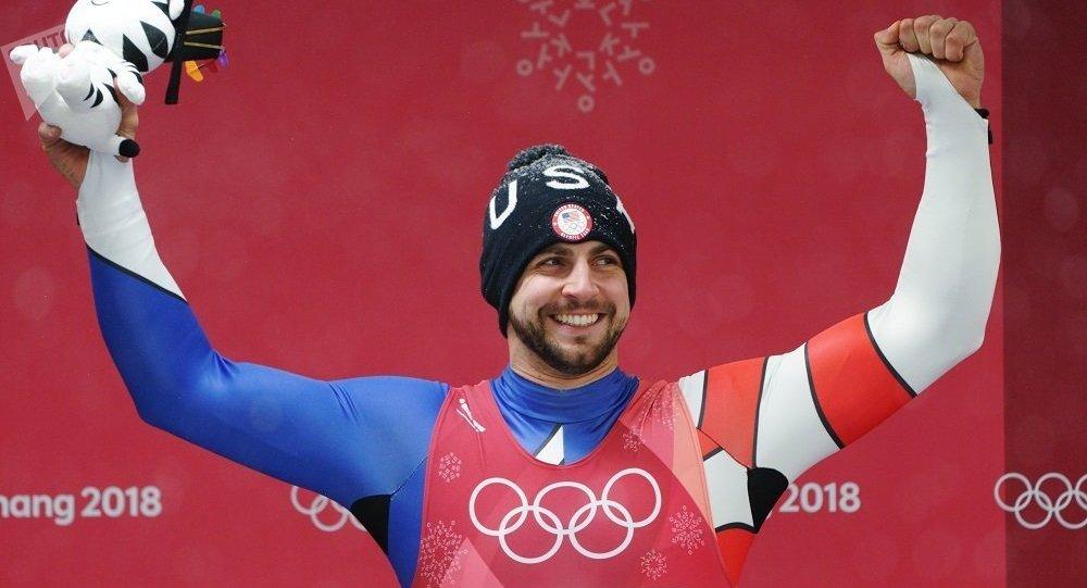 平昌冬奥会银牌得主美国人克里斯