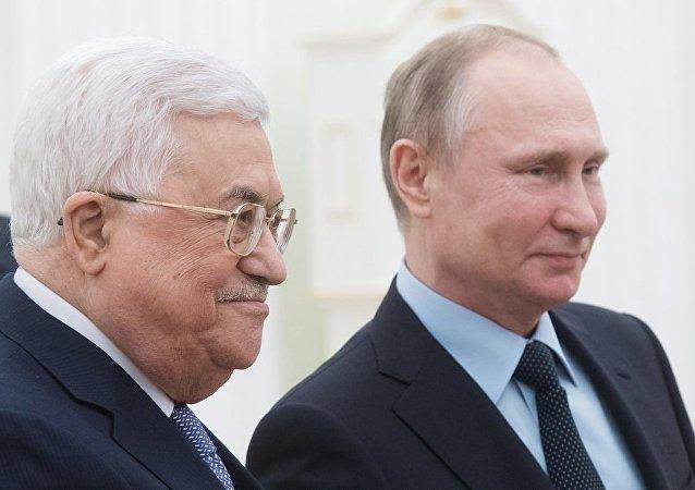俄总统新闻秘书:普京同阿巴斯将于7月14日在俄举行会谈