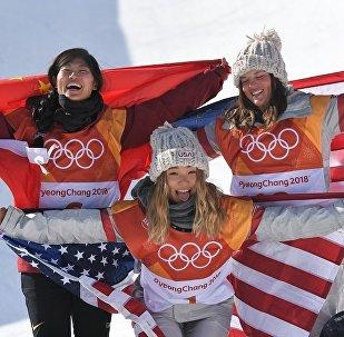 平昌冬奧會女子單板滑雪U型池中國選手摘銀