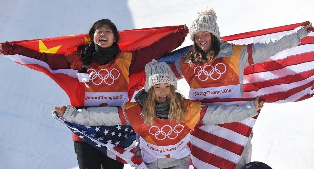 平昌冬奥会女子单板滑雪U型池中国选手摘银