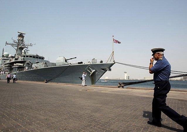 """英国护卫舰""""萨瑟兰号"""" (HMS Sutherland)"""