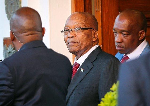 南非共和國總統祖馬